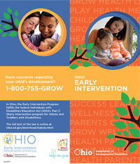 DODD Early Intervention Brochure